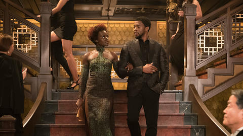 Image for Lupita Nyong'o on Nakia's Fighting Style in Marvel Studios' 'Black Panther'