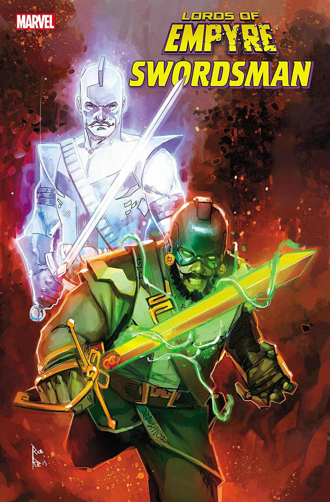 LORDS OF EMPYRE: SWORDSMAN #1 cover by Rod Reis