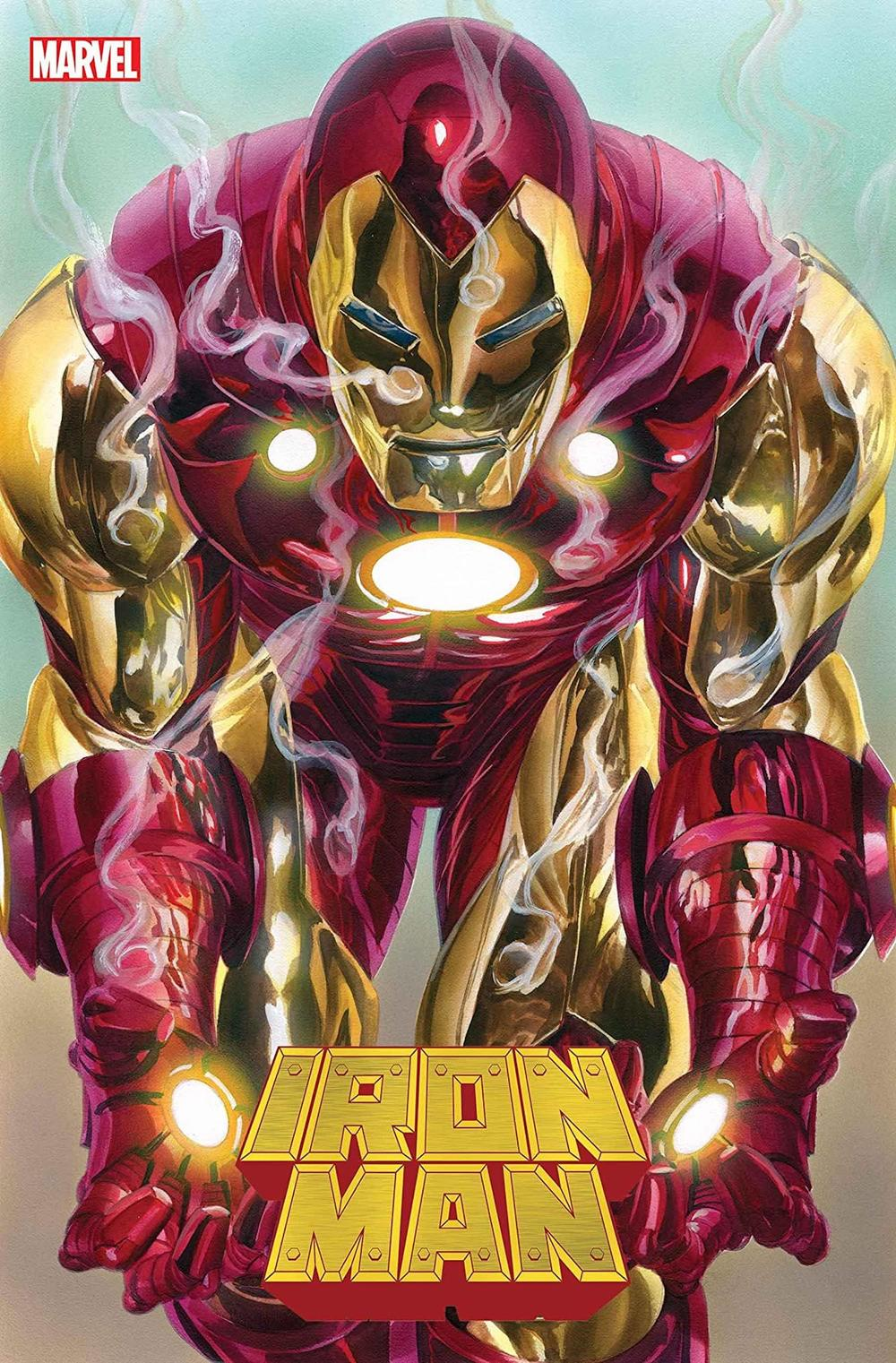 IRON MAN #2 cover by Alex Ross