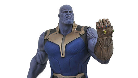 Image for New Minimates and Gallery PVC Figures Part of Diamond Select Toys' 'Avengers: Infinity War' Releases
