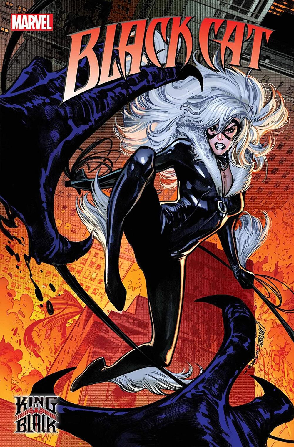 BLACK CAT #1 cover by Pepe Larraz