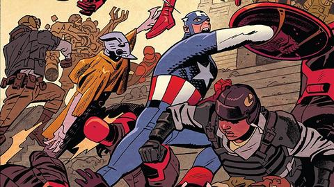 Image for Rewriting Captain America History