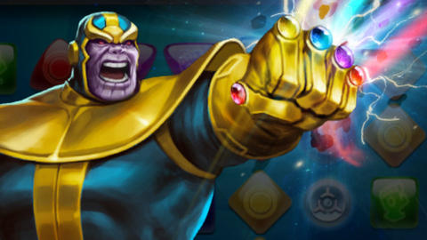 Image for Piecing Together Marvel Puzzle Quest: Thanos