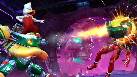 Image for ENTERING MARVEL CONTEST OF CHAMPIONS: HOWARD THE DUCK