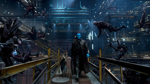 Image for Marvel Studios' 'Guardians of the Galaxy Vol. 2' Goes Running in the Shadows With New Preview