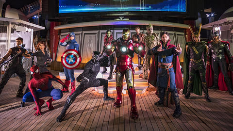 Image for First Look: Marvel Day at Sea on the Disney Magic