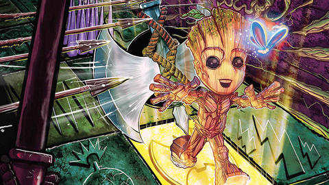 Image for I Am Groot: He is Groot