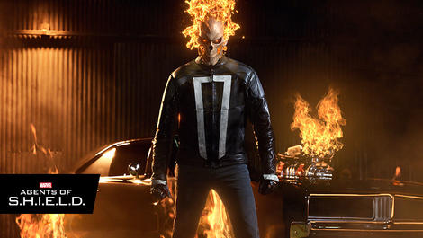 Image for The Ghost Rider Returns on the Explosive Season Finale of 'Marvel's Agents of S.H.I.E.L.D.'