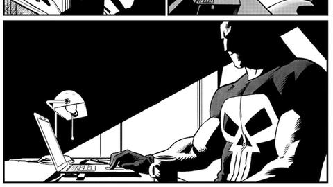 Image for Drawing The Punisher Back to NYC