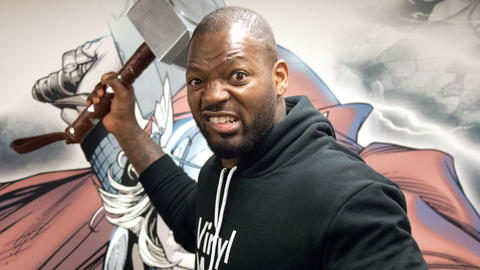 Image for Martellus Bennett Joins the Marvel Podcast