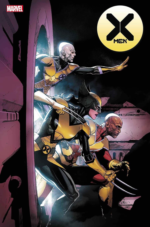 X-MEN #18 cover by Leinil Yu