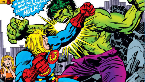 Image for Kirby 100: Ikaris and the Cosmic Powered Hulk