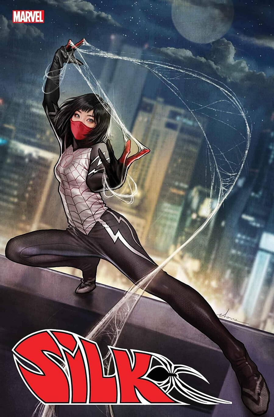 SILK #1 cover by Stonehouse