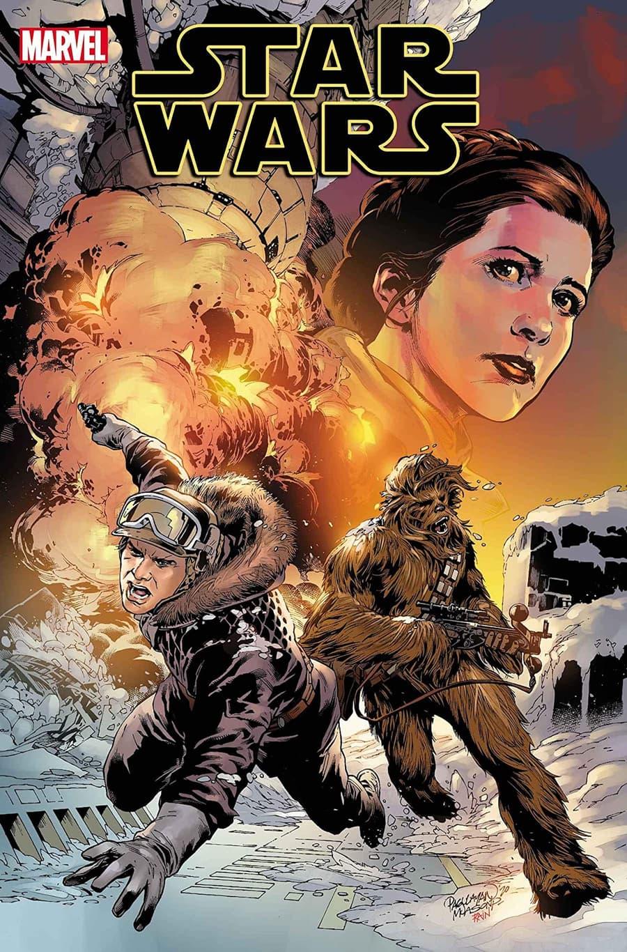 STAR WARS #12 cover by Carlo Pagulayan, Jason Paz, and Rain Beredo