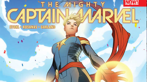Image for Mighty Captain Marvel on the Women of Marvel