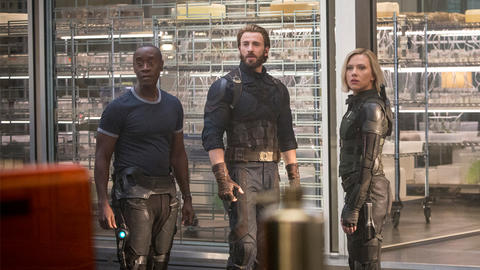 Image for Don Cheadle Says 'Infinity War' Is Serious Business