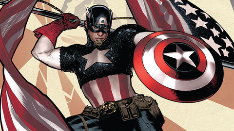 Image for Take a Look at the Star-Spangled Variant Covers for CAPTAIN AMERICA #1