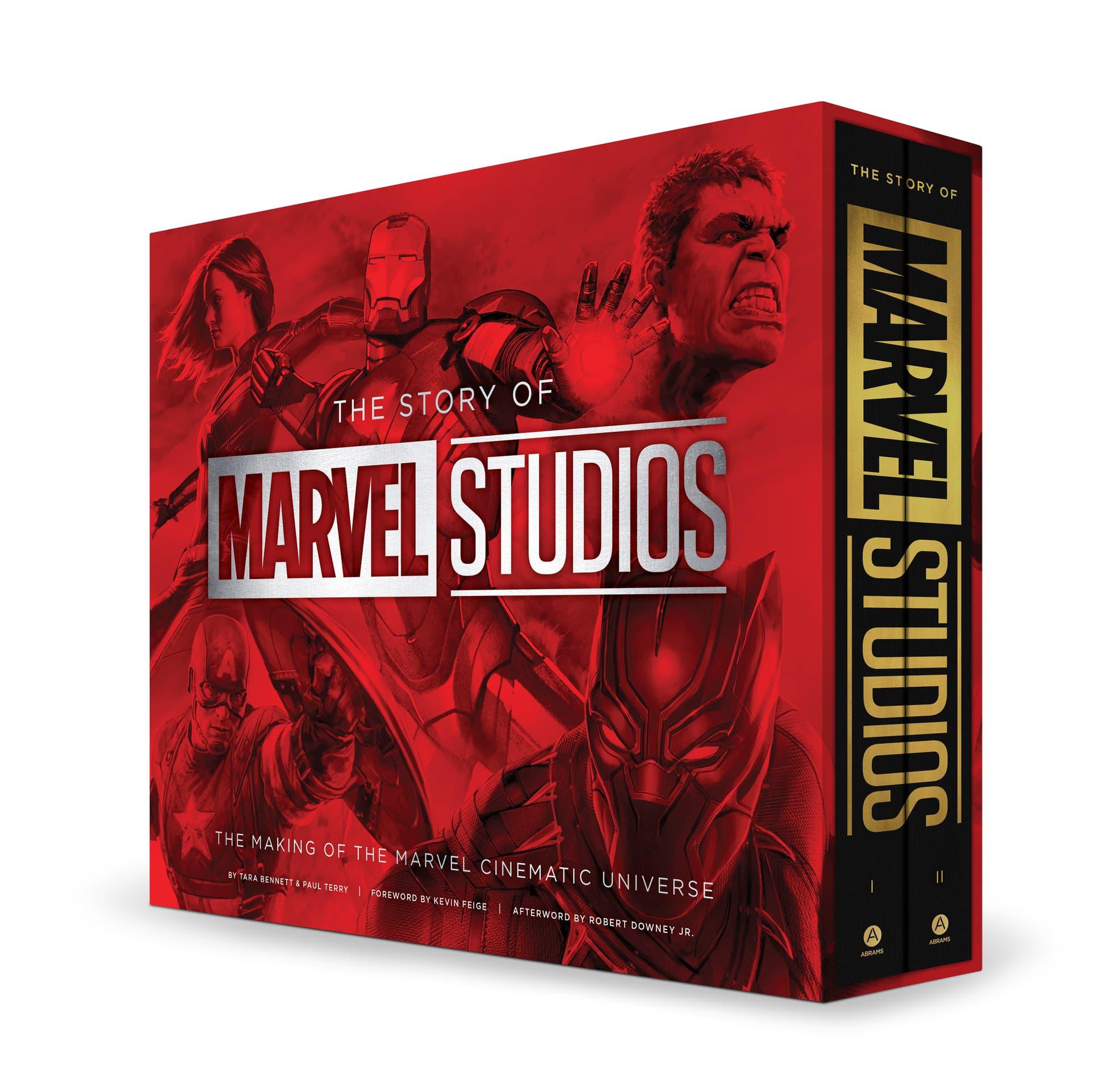 Marvel anuncia livro sobre o MCU