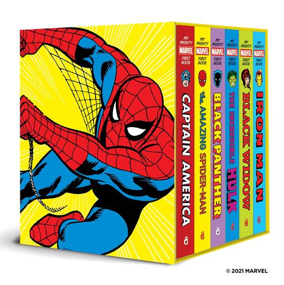 My Mighty Marvel First Books