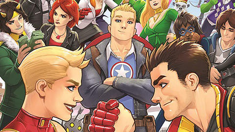 Image for Mighty Captain Marvel Visits 'Avengers Academy'