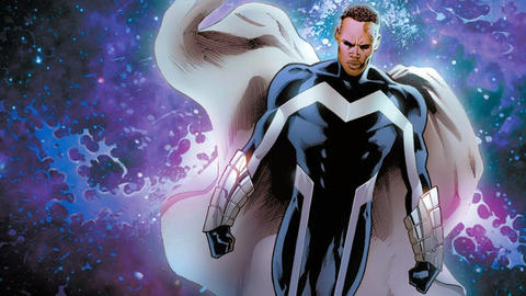 Image for Black History Month: Blue Marvel