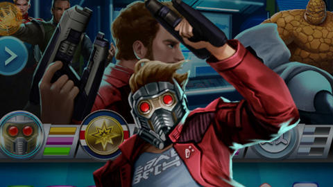 Image for Piecing Together Marvel Puzzle Quest: Star-Lord