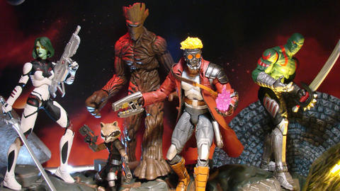 Image for Marvel Shop Blasts Off with New Guardians Figures