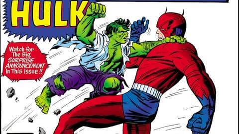Image for Kirby 100: Banner-Hulk