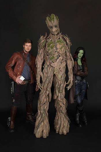 Meet Star-Lord, Groot, and Gamora at Disney California Adventure
