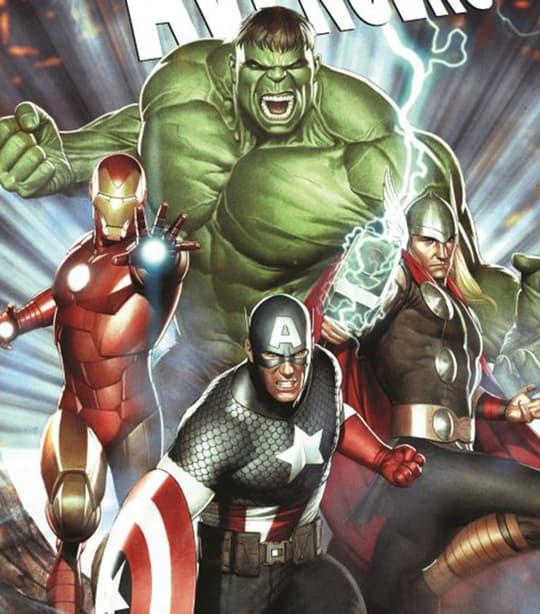 Avengers Card