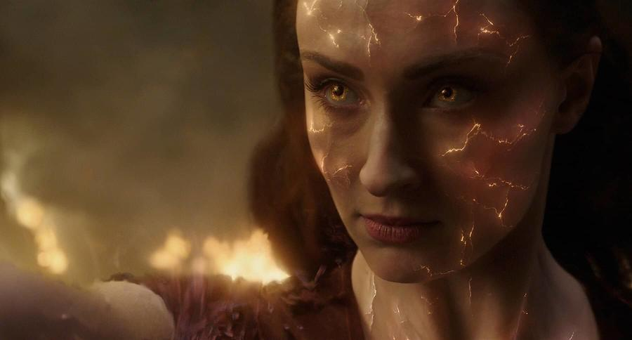 New 'Dark Phoenix' IMAX Poster Unleashes Sophie Turner's Jean Grey