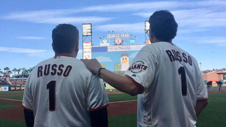 The Russo Brothers Kicked Off Marvel Night At Last Week's Giants