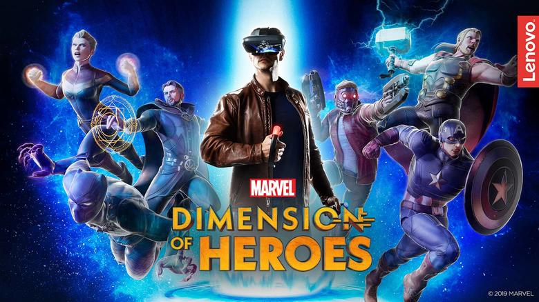 'MARVEL Dimension of Heroes'