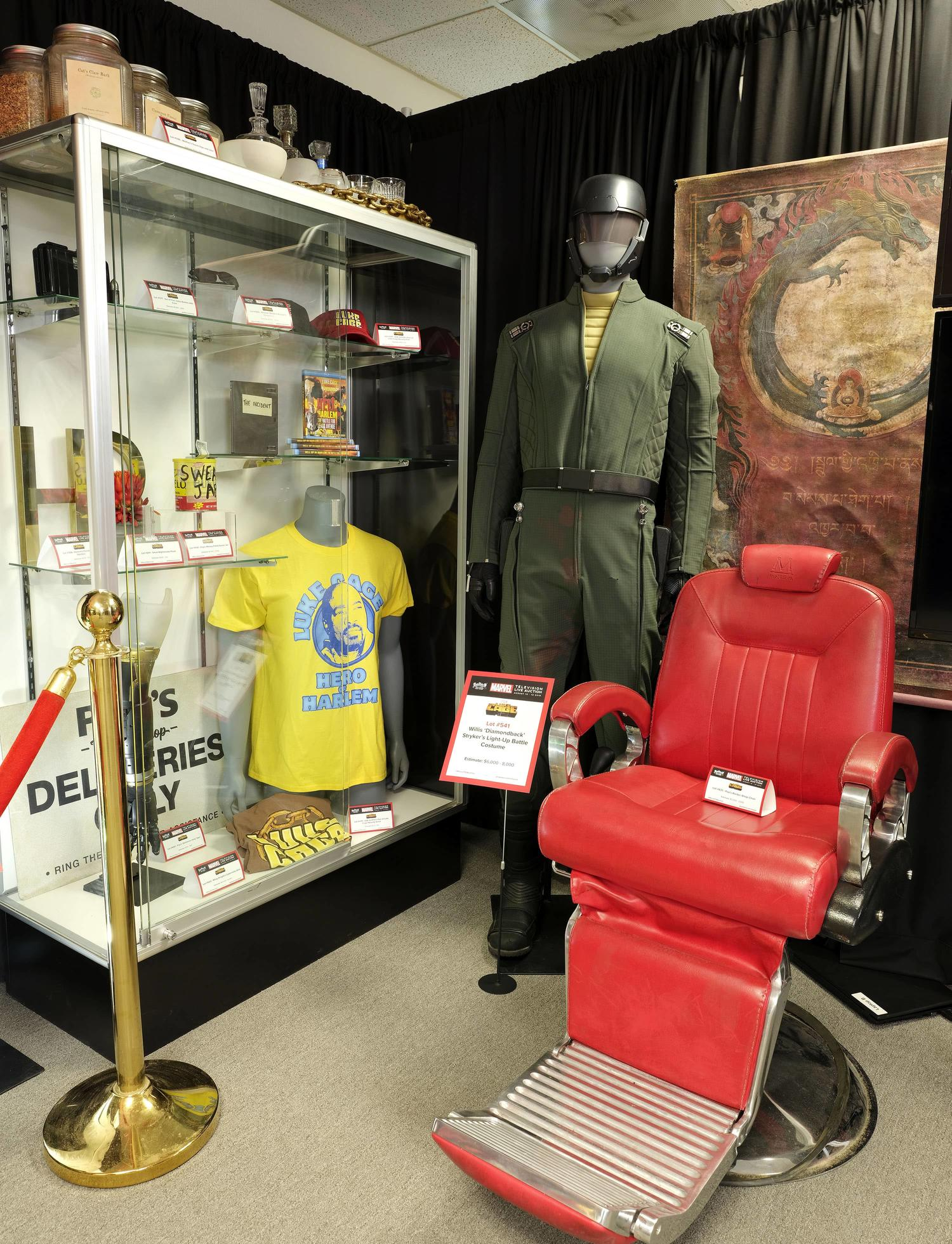 Marvel TV Prop Store Auction