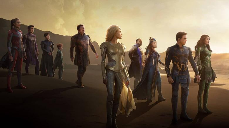 "Marvel libera trailer final de ""Eternos"""