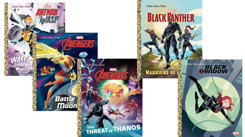 marvel little golden books