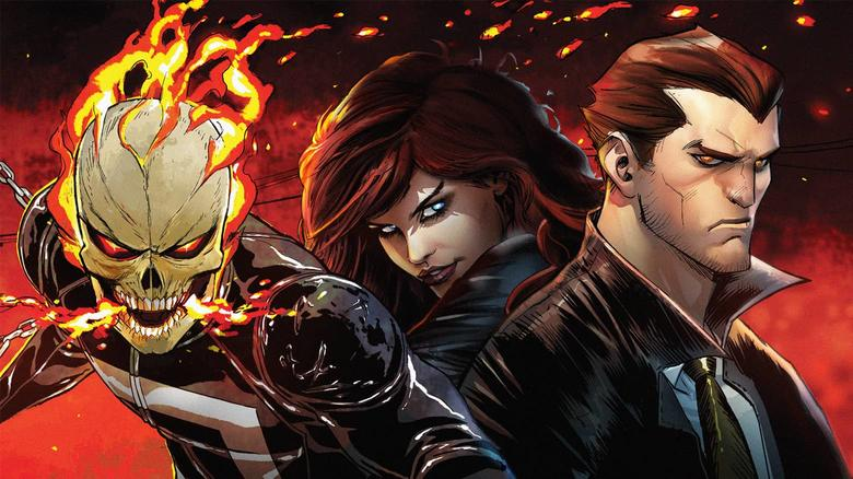 Hulu TV - Ghost Rider and Helstrom