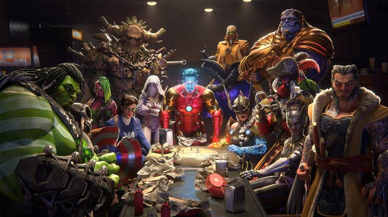 Prepare For An All Out Brawl with the Global Release of 'MARVEL Realm of Champions' | Marvel