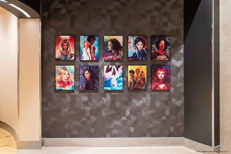 Disney's Hotel New York – The Art of Marvel