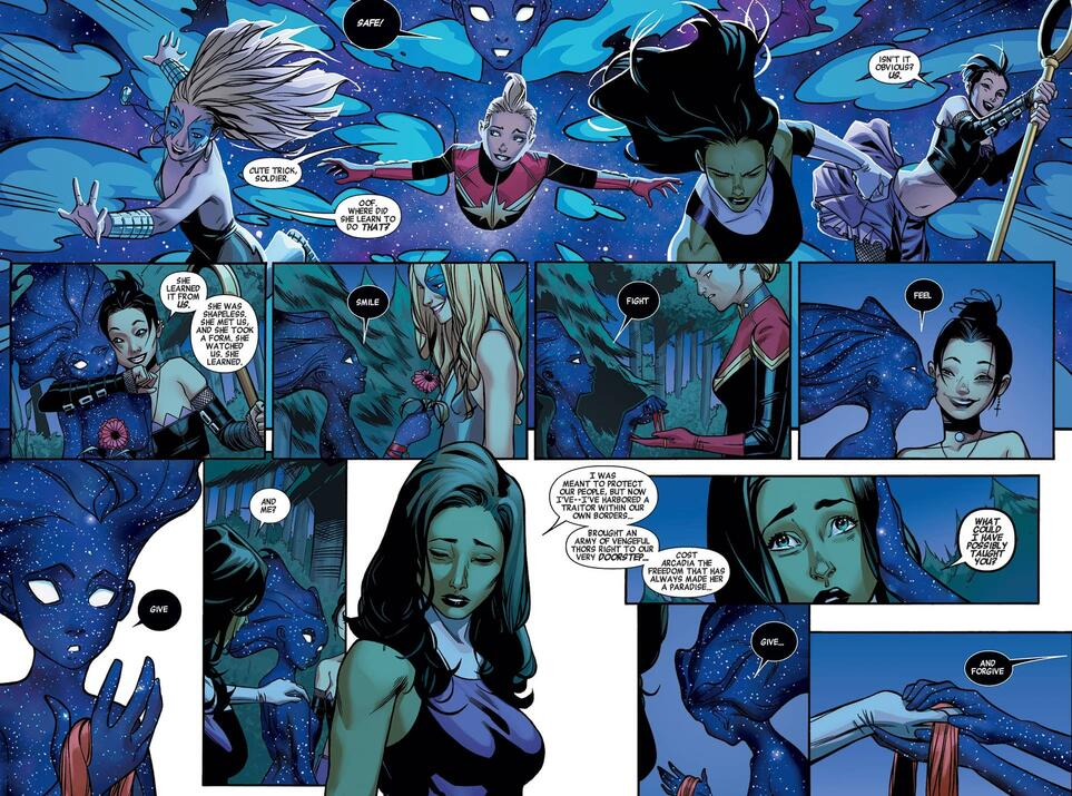 The full team in A-FORCE (2015) #4.