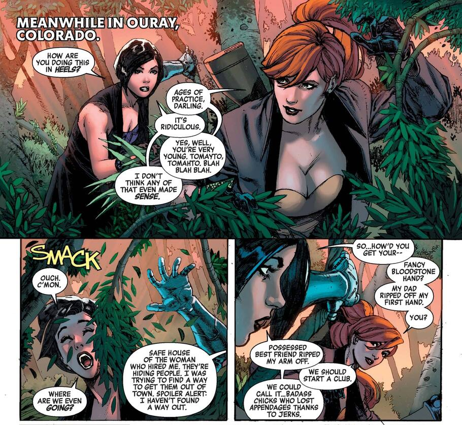 Elsa Bloodstone in A-FORCE (2016) #8.