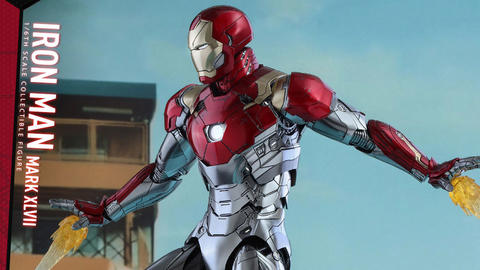 Image for Spider-Man: Homecoming – Iron Man Mark XLVII Figure
