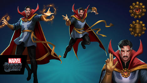 Image for Piecing Together Marvel Puzzle Quest: Doctor Strange
