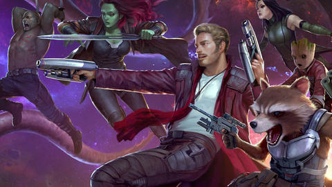 Image for The Guardians of the Galaxy Rock Marvel Games