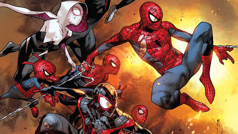 Image for The History of Spider-Man: 2015