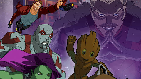 Image for 'Marvel's Guardians of the Galaxy: Mission Breakout' Premieres March 18th on Disney XD