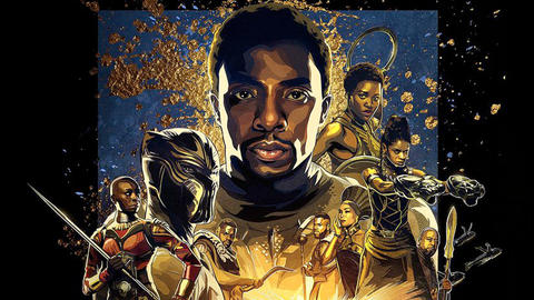 Image for Marvel Studios' 'Black Panther' Debuts Exclusive IMAX Poster