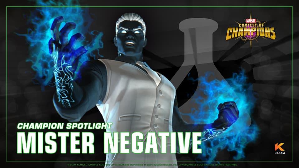 mister negative