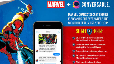 Image for Become Part of the Story with the Marvel Comics Chatbot