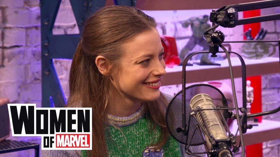 Image for Marvel Fan Gillian Jacobs Stops by Women of Marvel